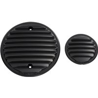 Arlen Ness® Finned Engine Covers - Black