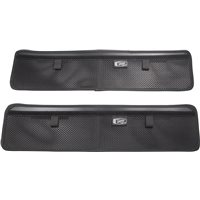 Saddlebag Lid Organizers - Black