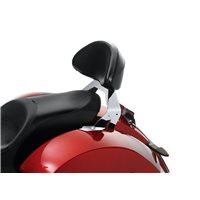 Lock & Ride® Passenger Backrest - Chrome