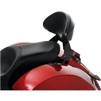 Lock & Ride® Passenger Backrest - Black