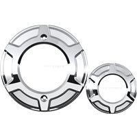 Victory® Beveled Engine Covers - Chrome