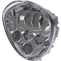 LED Headlight Kit - Chrome