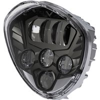 LED Headlight Kit - Black