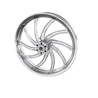 "Supra  21"" Front Wheel, Chrome"