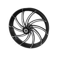"""Supra 21"""" Front Wheel, Contrast Cut Platinum"""