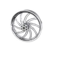 "Supra 18"" Front Wheel, Chrome"