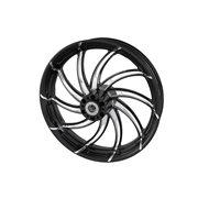 """Supra 18"""" Front Wheel, Contrast Cut Platinum"""