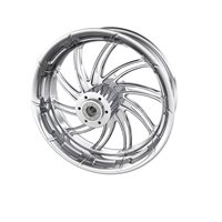 "Supra 16"" Rear Wheel, Chrome"