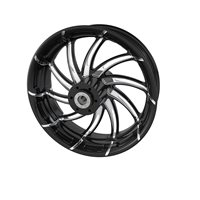 "Supra 16"" Rear Wheel, Contrast Cut Platinum"