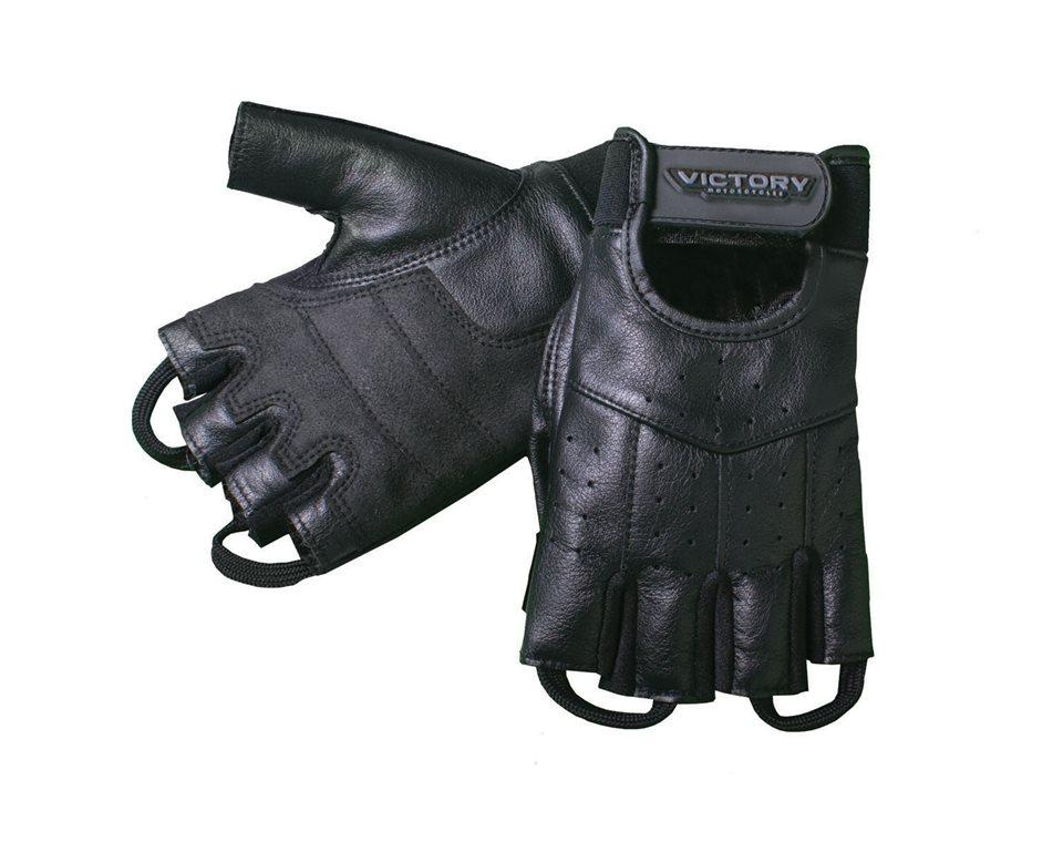 Mens Fingerless Glove - Black 2863231