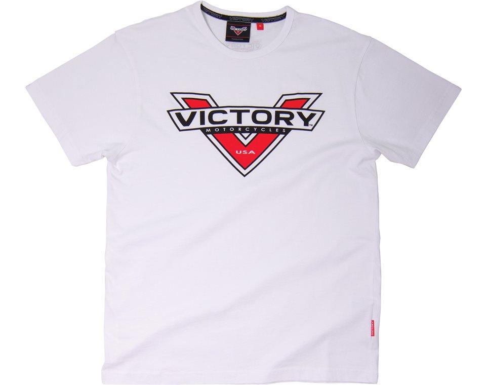 Logo Color Badge T-Shirt White 2863239