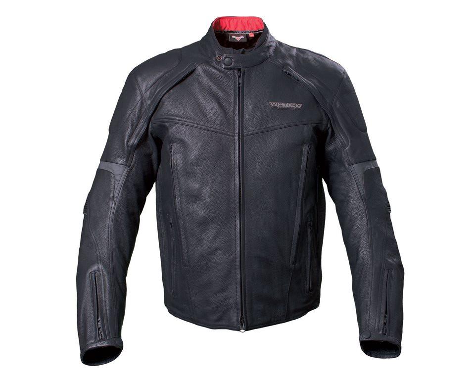 Men's Waterproof Canyon Jacket - Black Leather 2863613