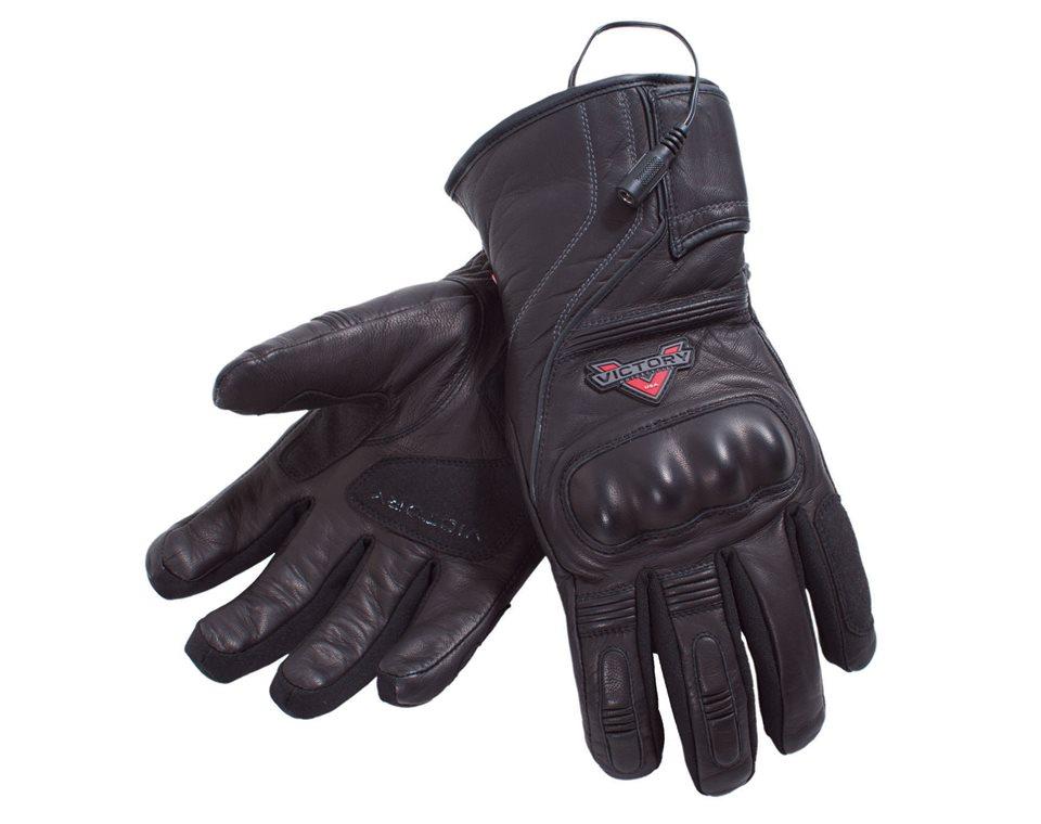 Womens Heated Glove - Black 2863636