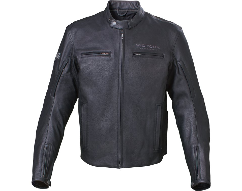 Men's Kingston Jacket - Black Leather 2863728