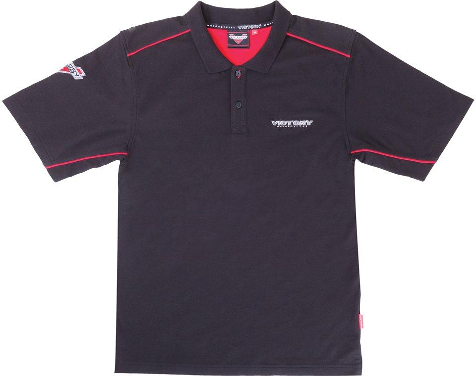 Men's Brand Polo Shirt - Black 2863776