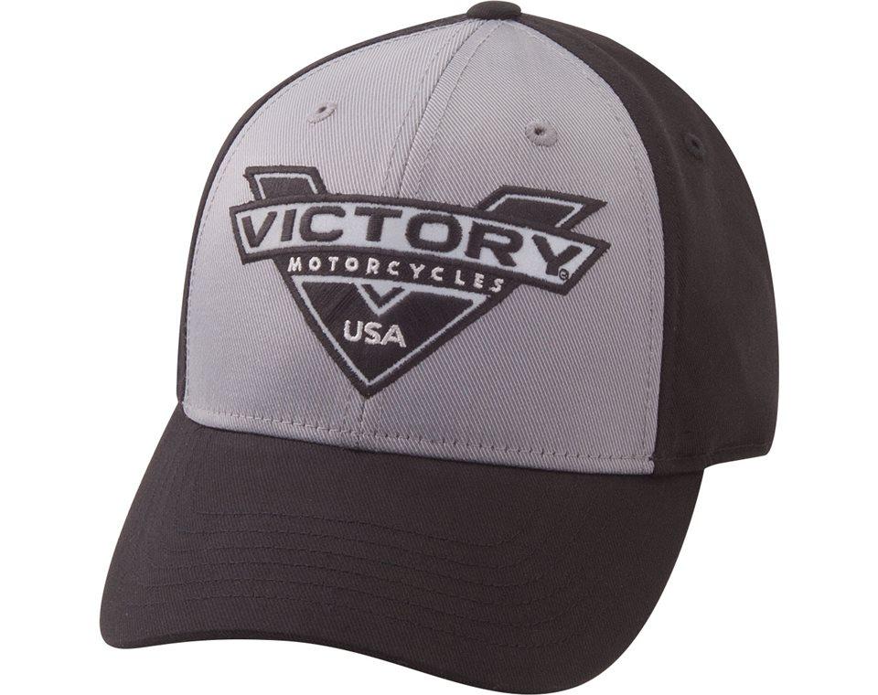 Flex Fine Rib Hat - Grey/Black 2863839
