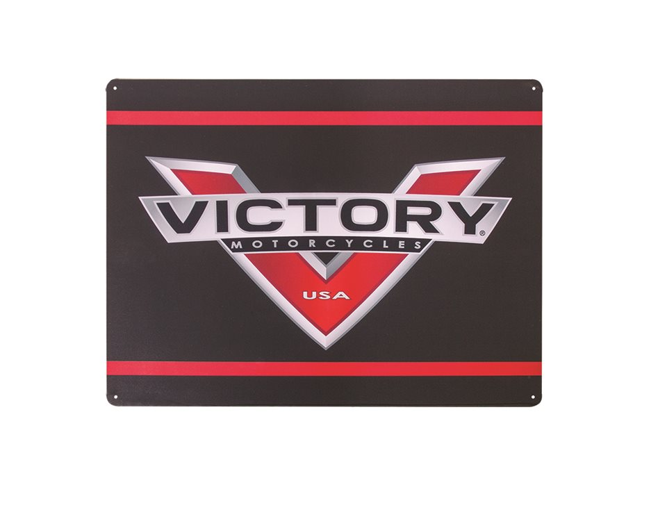 Victory Motorcycle Metal Sign-Logo 2863941