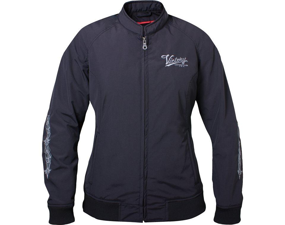 Women's Bomber Jacket - Black 2864332