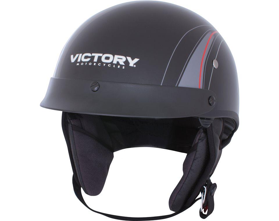 Half Helmet 2 Open Face - Black/Gray 2864366