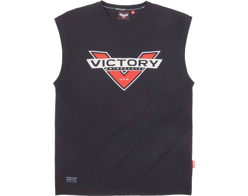 Men's Sleeveless Tee-Black by Victory Motorcycles® 2864391