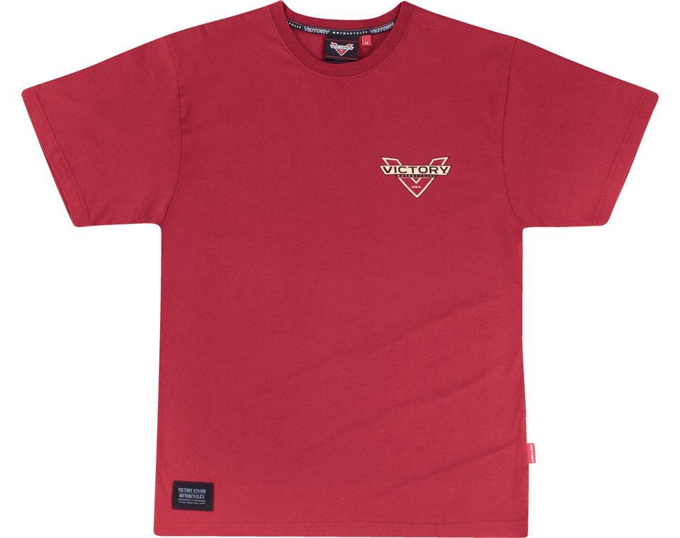 Mens Short Sleeve King Tee -Red 2865178