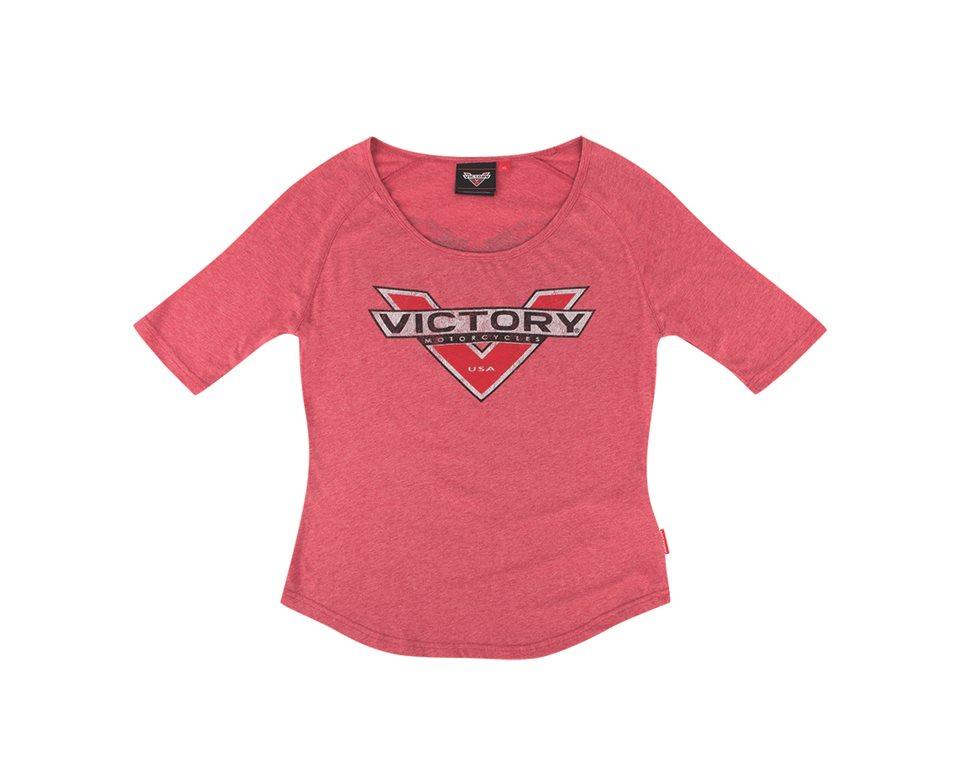 Women's Foil Tee Red 2866187