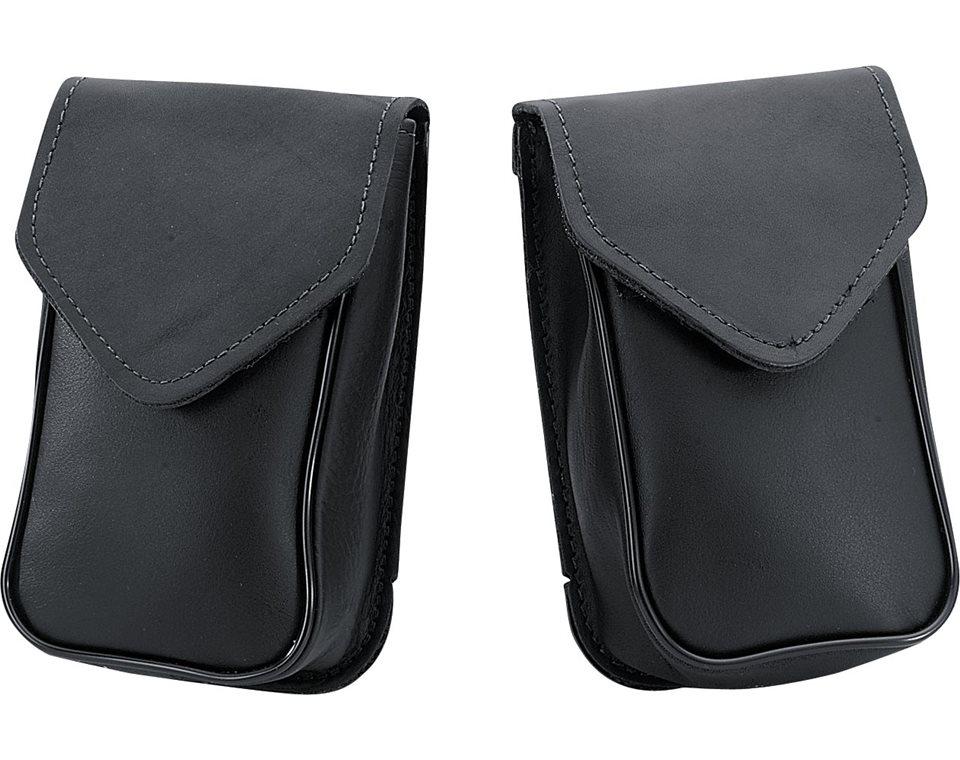 Leather Windscreen Bag - Black 2874597