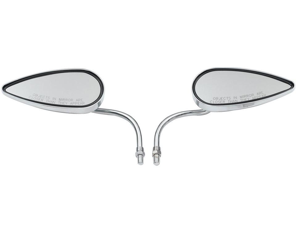 Arlen Ness® Teardrop Mirrors - Chrome 2874934-156