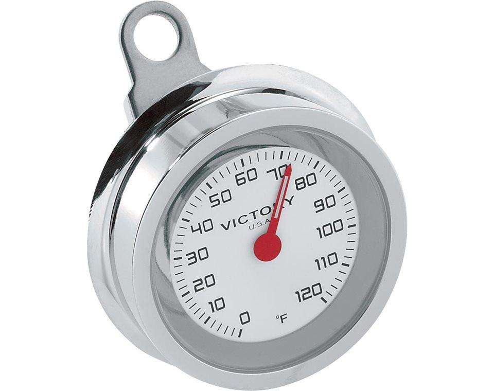Handlebar Thermometer - Chrome 2875169