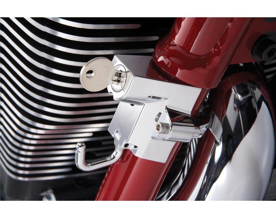 Frame-Mounted Helmet Lock 2876348