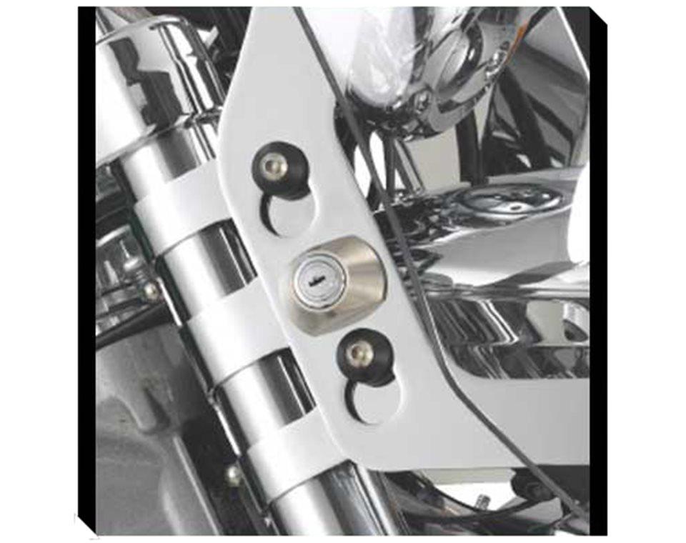 Lock & Ride Windscreen Bracket - Chrome 2876375