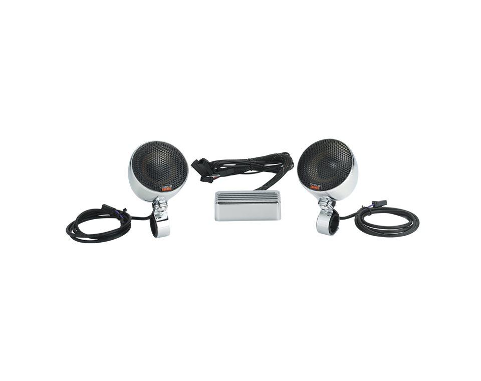 Handlebar Speakers Kit, Chrome 2879625-156