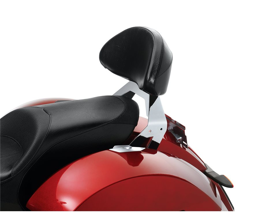 Lock & Ride® Passenger Backrest - Chrome 2880163-156