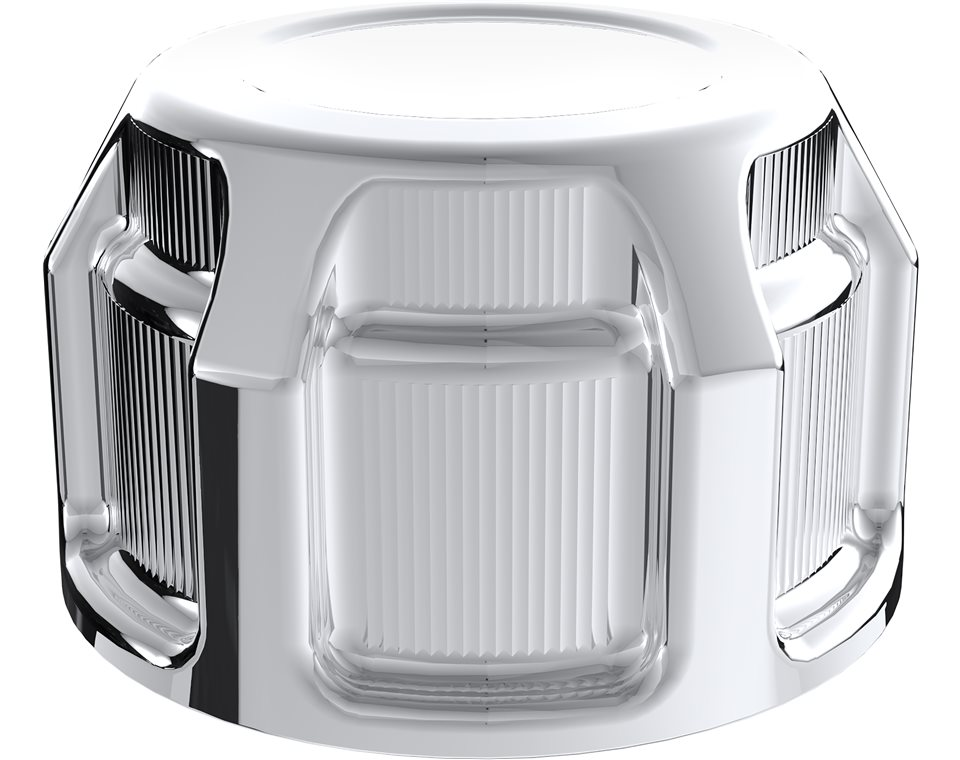 Victory® Beveled Tensioner Covers - Chrome 2880321-156
