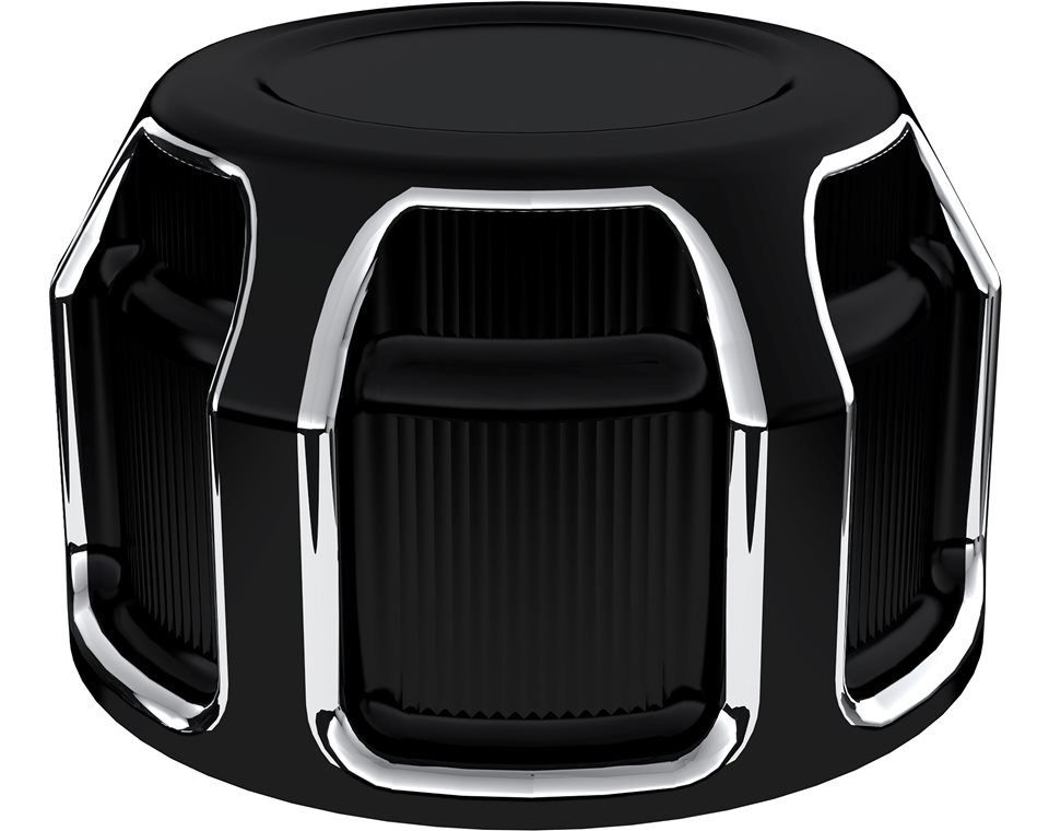 Victory® Beveled Tensioner Covers - Black 2880321-468