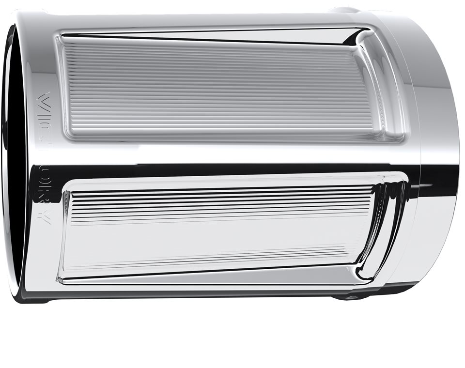 Victory® Beveled Exhaust Tips - Chrome 2880322-156