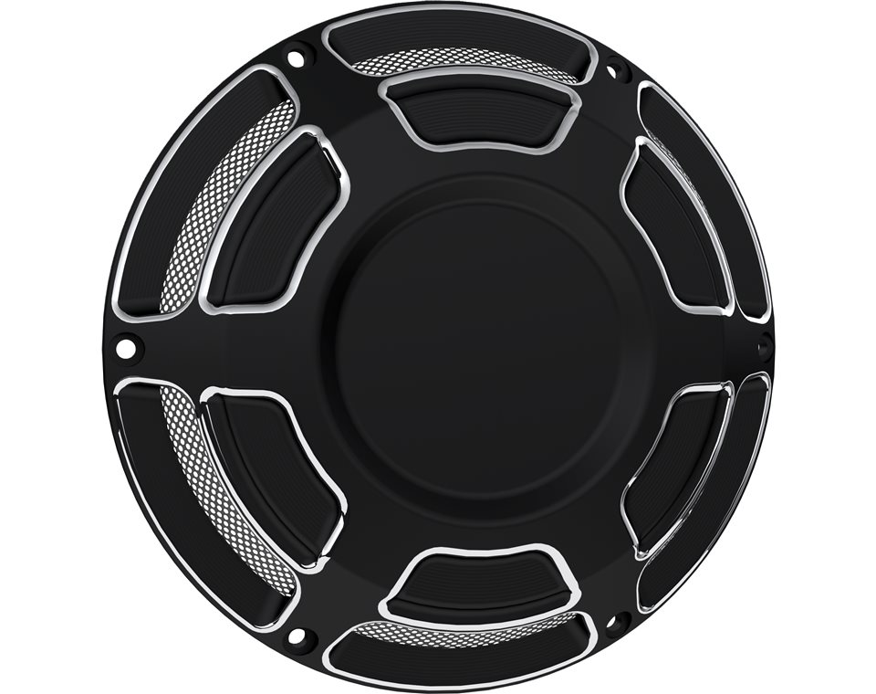 Victory® Beveled Ignition/IAC Covers - Black 2880355-468