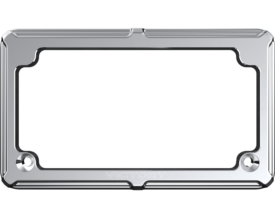 Victory® Beveled License Plate - Chrome 2880504-156