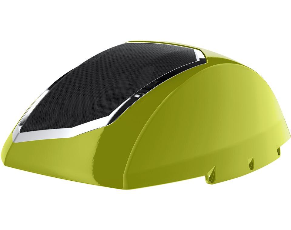 Cross Country Saddle Bag Audio Lids - Plasma Lime 2880650-671