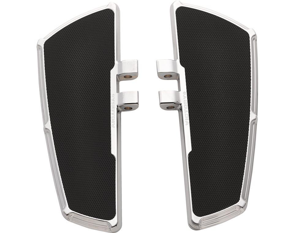 Victory® Beveled Passenger Floorboards - Chrome 2880773-156