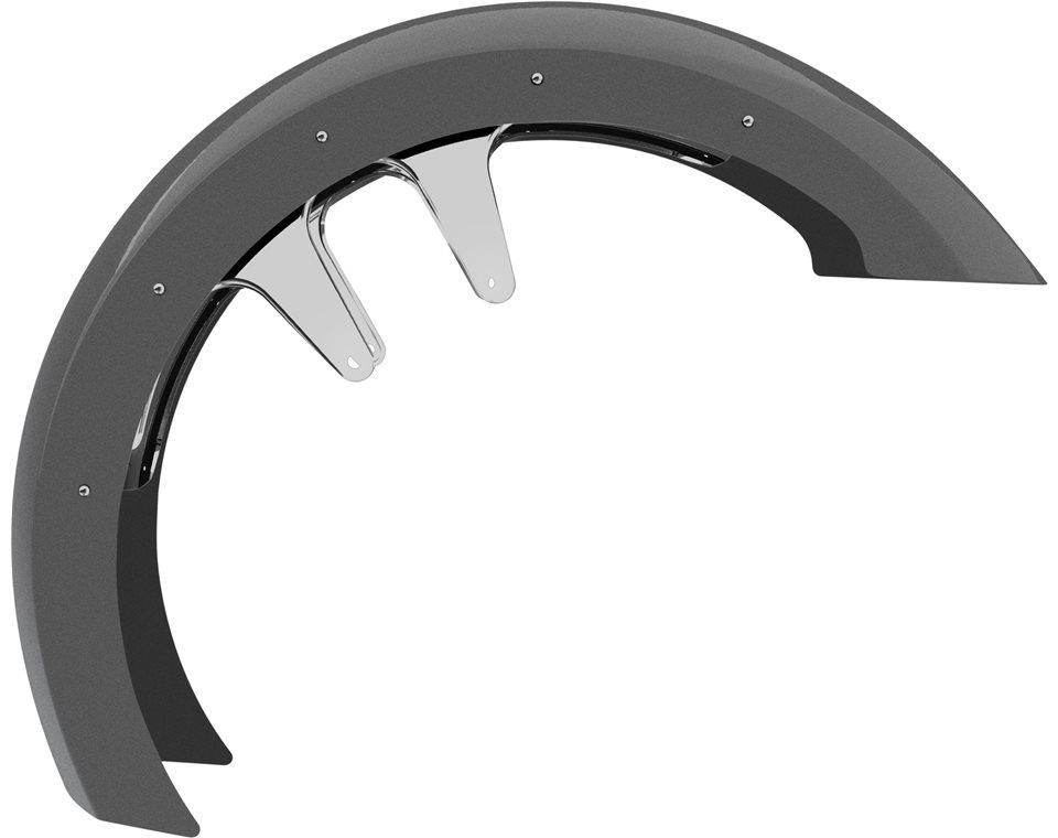 "21"" Front Fender - Gloss Titanium 2880779-653"