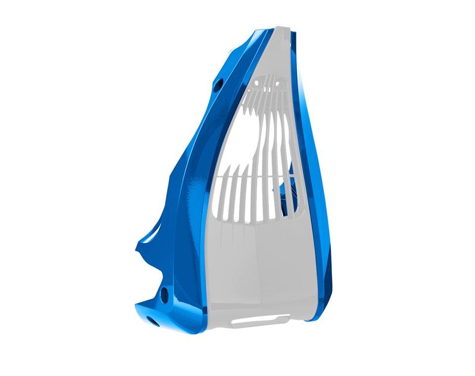 Chin Fairing - Blue Fire Gloss 2880806-620