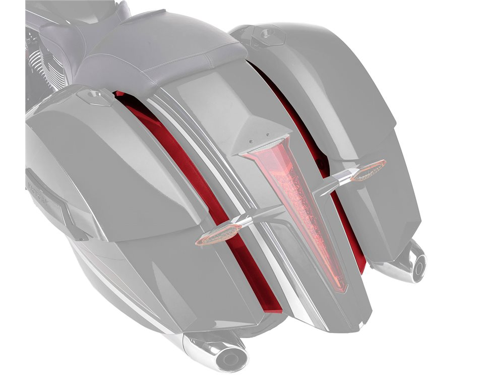 Painted Fender Closeouts - Sunset Red 2880809-520