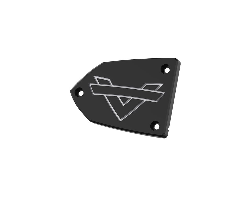 Shadow Collection Brake Reservoir Cover - Black 2881660-266