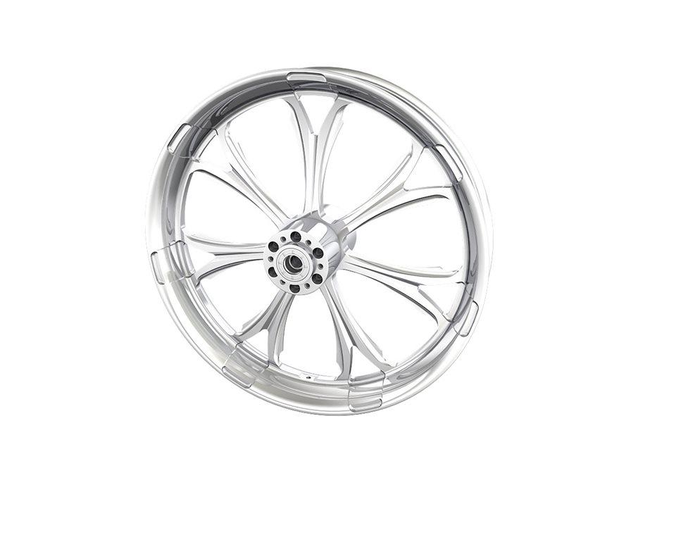 """Paramount 21"""" Front Wheel, Chrome 2881704-156"""