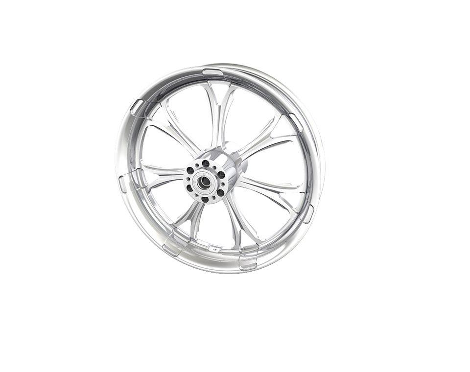 """Paramount 18"""" Front Wheel, Chrome 2881705-156"""