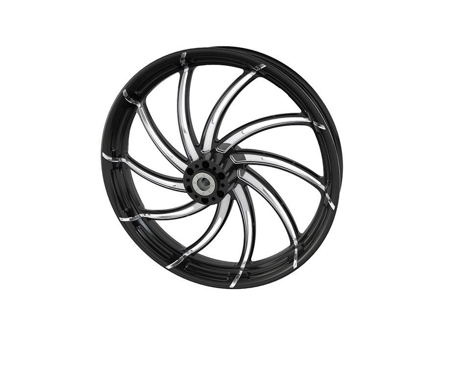 """Supra 21"""" Front Wheel, Contrast Cut Platinum 2881707-468"""