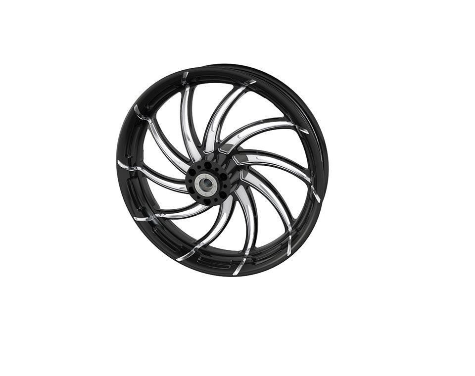 """Supra 18"""" Front Wheel, Contrast Cut Platinum 2881708-468"""