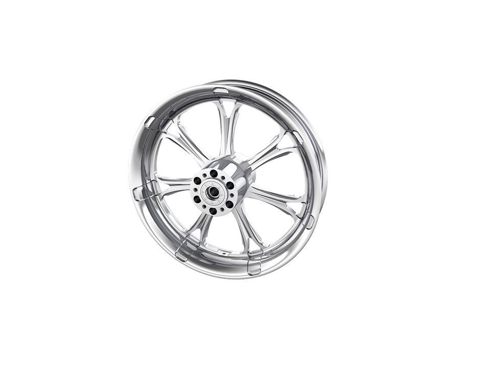"""Paramount 16"""" Front Wheel, Chrome 2881710-156"""