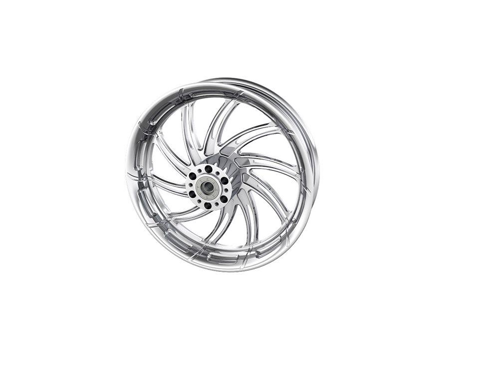 "Supra 16"" Front Wheel, Chrome 2881712-156"